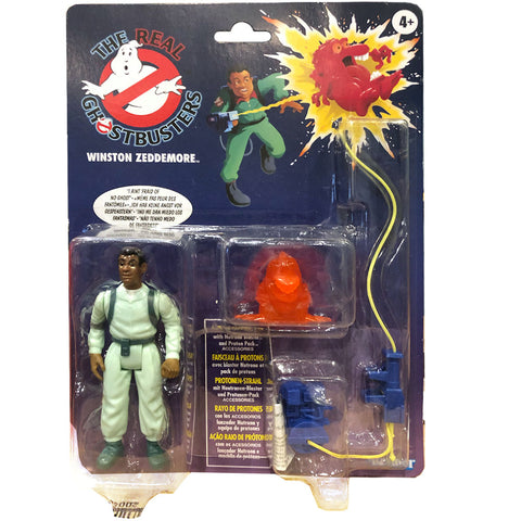 Hasbro The Real Ghostbusters Kenner Reissue Winstom Zeddemore Multilingual box package front