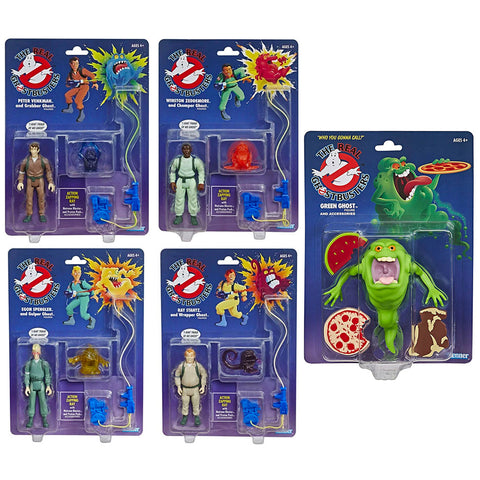 Hasbro The Real Ghostbusters Reissues Walmart 5-figure bundle set box package front