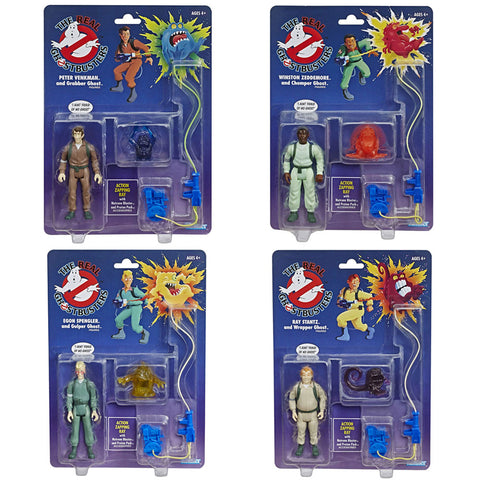 Hasbro The Real Ghostbusters Reissue Walmart Complete set bundle of 4 box package