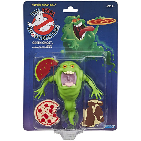The real Ghostbusters Slimer Green Ghost Box Package Front