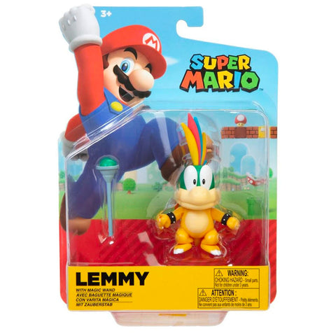 Jakks Pacific World of Nintendo Lemmy Koopa with wand box package front