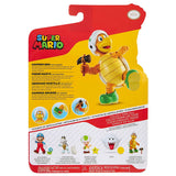 Jakks Pacific World of Nintendo Super Mario Hammer Bro with Hammer reissue 4-inch box package back
