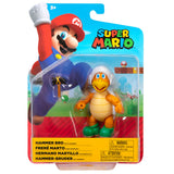 Jakks Pacific World of Nintendo Super Mario Hammer Bro with Hammer reissue 4-inch box package front