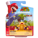 Jakks Pacific World of Nintendo Super Mario Iggy Koopa Box Package Front