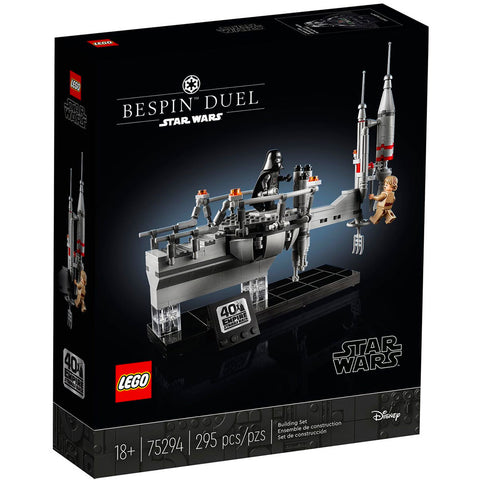 Lego Star Wars The Empire Strikes Back 40th Anniversary Bespin Duel box package front