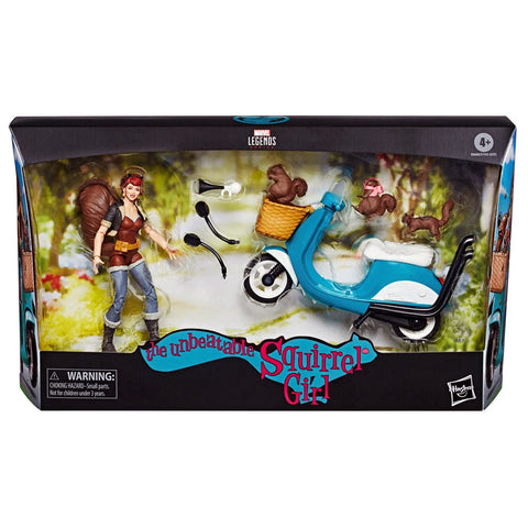 Hasbro Marvel Legends The Unbeatable Squirrel Girl scooter Box Package Front