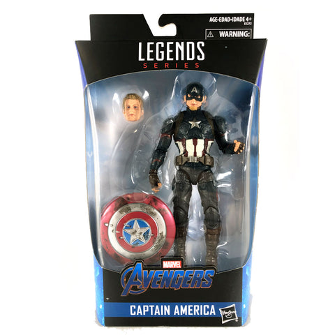 Marvel Legends Worthy Captain America in Package MISB