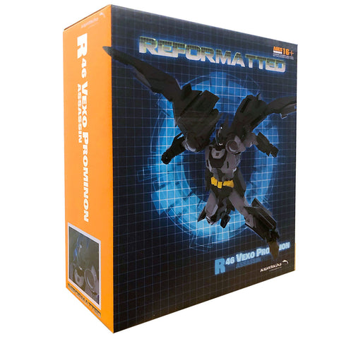 Mastermind Creations Reformatted R-46 Vexo Prominion Third Party TFCON2020 box package front angle