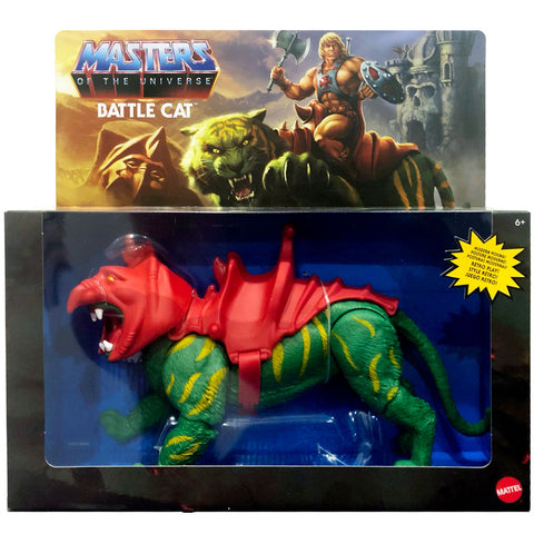 MOTU Mattle Masters of the Universe Origins Battle Cat Retro Play box package front