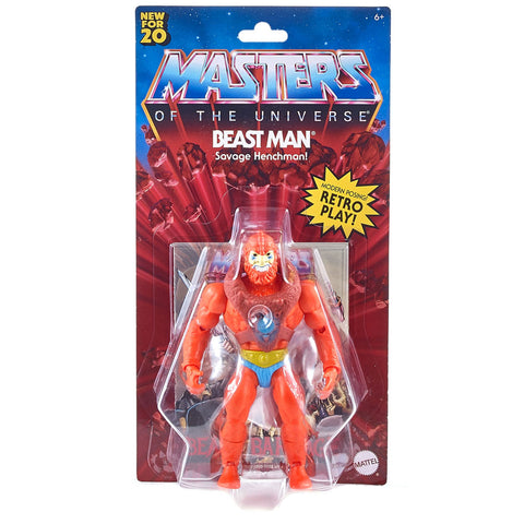 Mattel MOTU Masters of the Universe Origins Beast Man Box package front