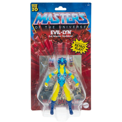 Mattle MOTU Masters of the Universe Origins Evil-Lyn Box package front