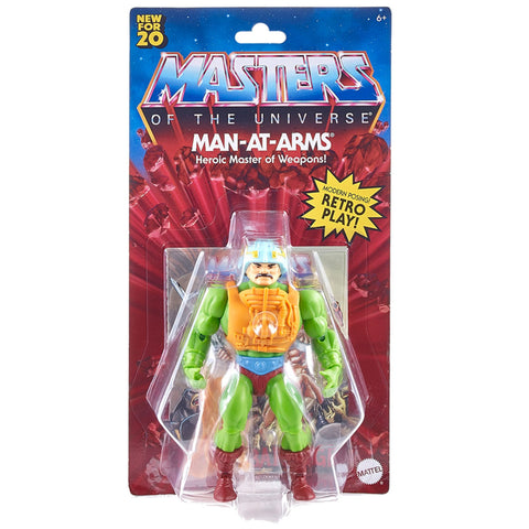 Mattel MOTU Masters of the Universe Origins Man-At-Arms box package front