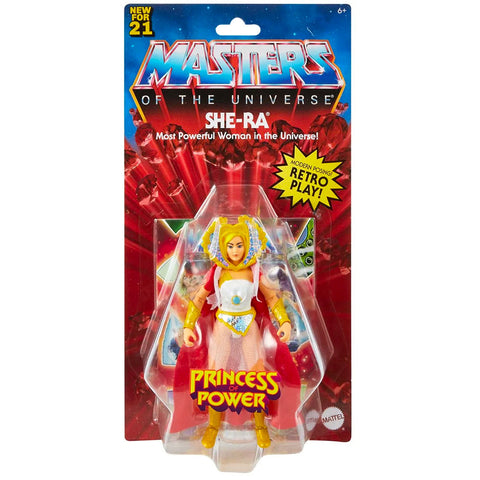 Mattel Masters of the Universe Origins Princess of Power She-Ra Box Package Front