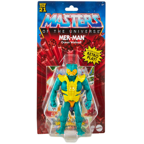 Mattel Masters of The Universe Origins Mer-Man - Retro Play
