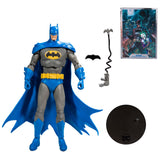 McFarlance Toys DC Multiverse Blue Gray Batman Detective Comics 1000 Action Figure Toy Accessories