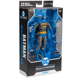 McFarlance Toys DC Multiverse Blue Gray Batman Detective Comics 1000 Box Package Angle