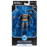 McFarlance Toys DC Multiverse Blue Gray Batman Detective Comics 1000 Box Package Front