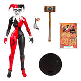 McFarlane Toys DC Multiverse Harley Quinn Animated Classic Action Figure Toy Accessories