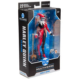 McFarlane Toys DC Multiverse Harley Quinn Animated Classic Box Package Angle