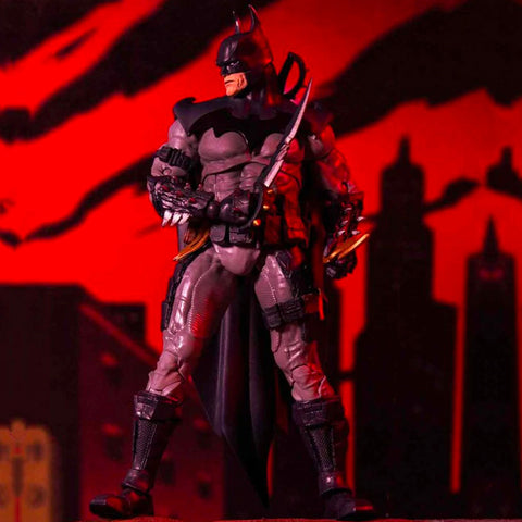 McFarlane Toys DC Multiverse Batman designed by todd mcfarlane reveal photo toy action figure
