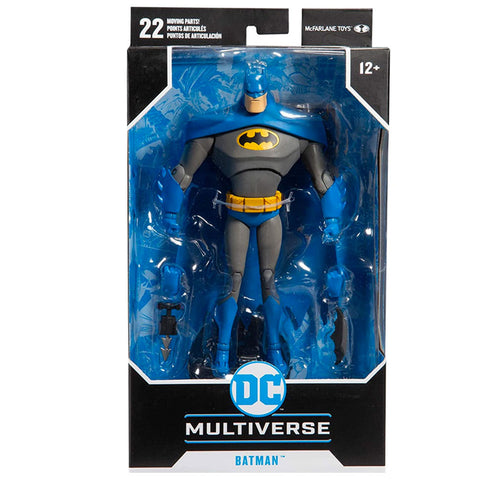 Mcfarlane Toys DC Multiverse Animated Series Batman blue variant box package front