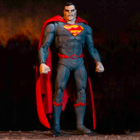 McFarlane Toys DC Multiverse Bizarro Superman Action Figure Toy Reveal Photo