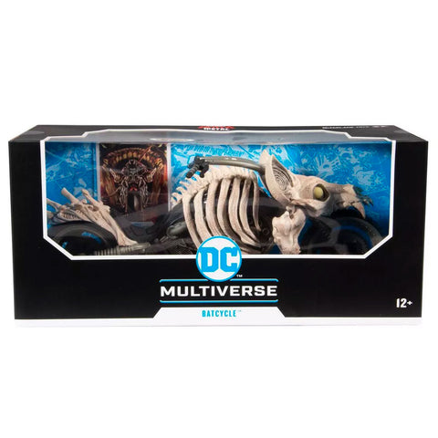 McFarlane Toys DC Multiverse Batcycle Dark Nights: Metal vehicle box package front