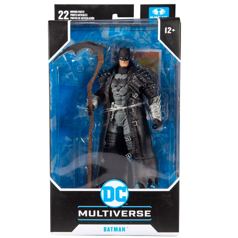 Mcfarlane Toys DC Multiverse Dark Nights Metal Death Batman box package Front