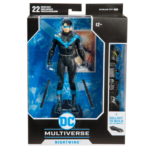 Mcfarlane Toys DC Multiverse Nightwing Better Than Batman box package front