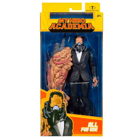 McFarlane Toys My Hero Academia All for One Box Package Front