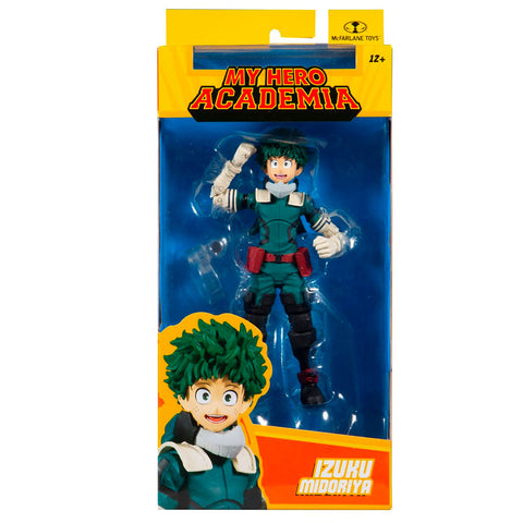 Mcfarlane Toys My Hero Academia Izuku Midoriya gamma hero suit box package front