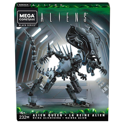 Mega Construx Black Series Aliens Alien Queen building block toy box package front