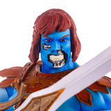 Mondo Masters of the Universe Exclusive Faker Battle Damage face head close up