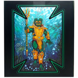 Mondo MOTU Masters of the Universe Mer-man box package back art