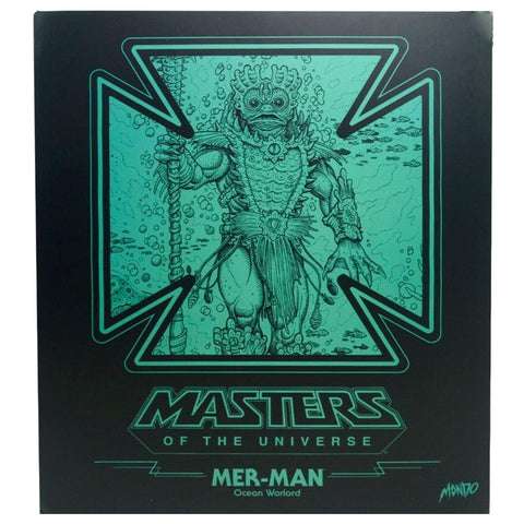 Mondo MOTU Masters of the Universe Mer-man box package front