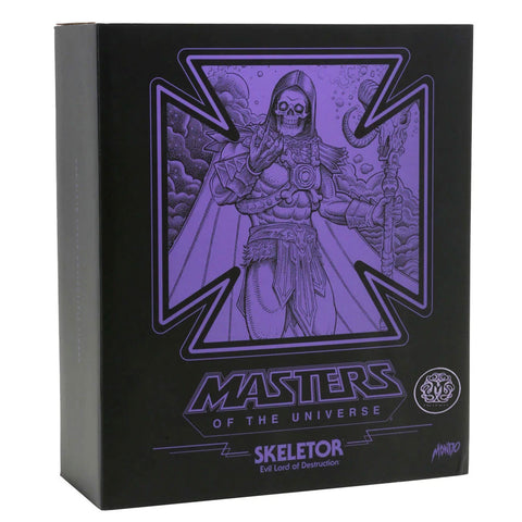 Mondo MOTU Masters of the Universe Skeletor Designer Con 2019 Exclusive Box Package