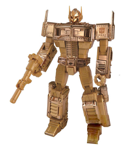 Transformers Masterpiece Golden Lagoon MP-10 Optimus Prime Convoy Gold