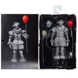 NECA SDCC 2019 It Grayscale Etched Pennywise Box Inner Package