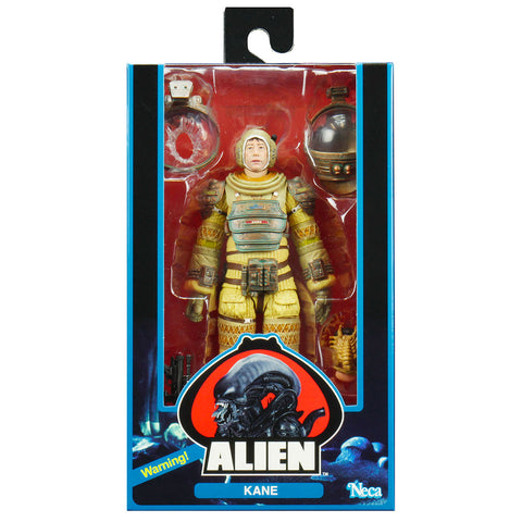 NECA Alien 40th Anniversary Gilbert Kane Box Package Front