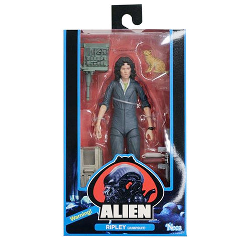 NECA Alien 40th Anniversary Ripley Jumpsuit Box Package Front