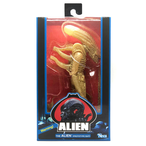NECA Alien 40th Anniversary The Alien Prototype Suit Box Package Front