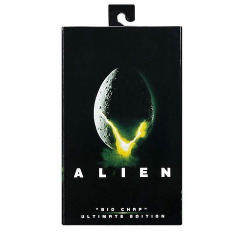 NECA Alien 40th Anniversary Ultimate Edition Big Chap Box Package Front