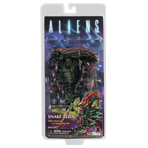 NECA Aliens Series 13 Snake Alien Box Package