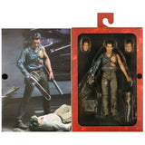 NECA Evil Dead 2 Dead by Dawn Ultimate Hero ash Williams Box Inner Package