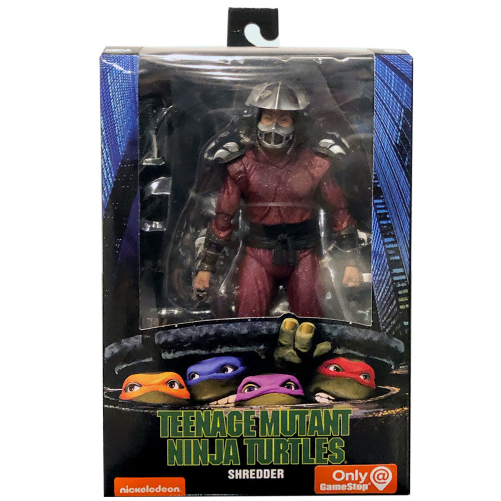 Neca Teenage Mutant Ninja Turtles 90 S Movie Shredder Gamestop Toy