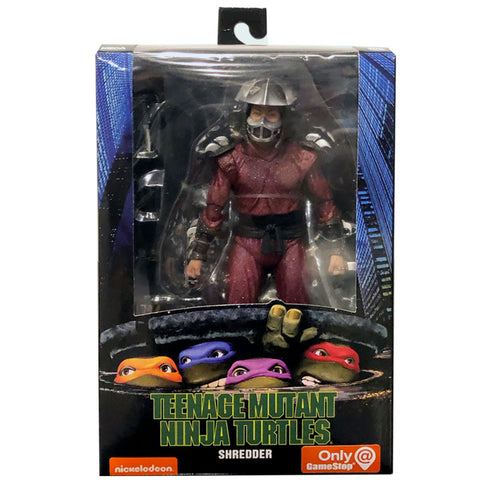 NECA TMNT Teenage Mutant Ninja Turtles 90s Movie Shredder Box Package Front