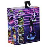 NECA TMNT Teenage Mutant Ninja Turtles In Time Foot Soldier Trooper Video Game Box Package Back