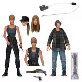 NECA Terminator 2: Judgement Day Sarah John Connor 2-pack Target exclusive action figure toy accessories