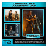 NECA Terminator 2: Judgement Day Sarah John Connor 2-pack Target exclusive box package back