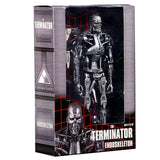 NECA The Terminator T-800 Endoskeleton box package front angle
